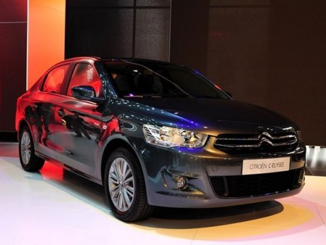 Spy Shots: new Citroen C-Elysee is Naked in China