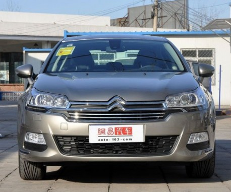 Facelifted Citroen C5 arrives at the Dealer in China