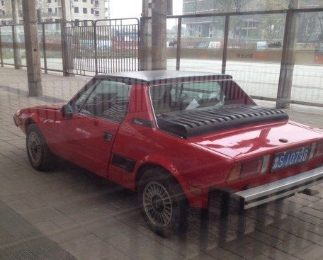 Spotted in China: Fiat X1/9