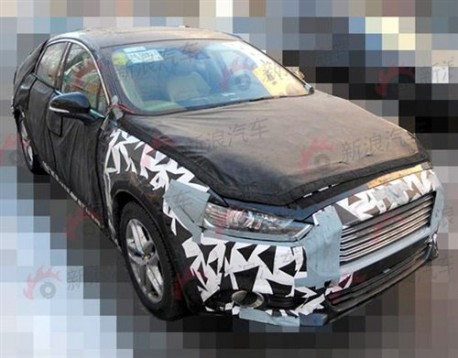 Spy Shots: new Ford Mondeo seen testing in China