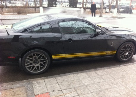 Spotted in China: Ford Mustang Shelby GT500