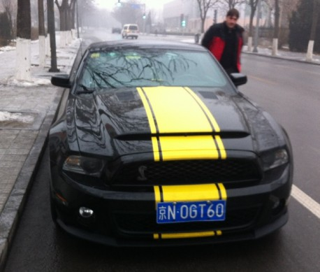 Spotted In China Ford Mustang Shelby Gt500 Carnewschina Com