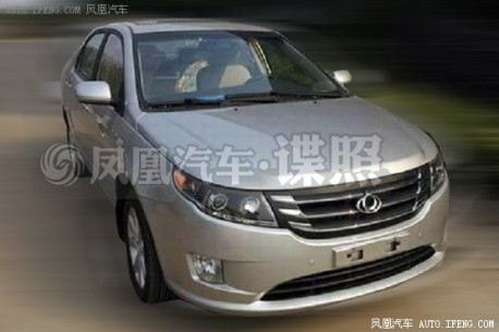 Spy Shots: facelift for the Geely GLEagle GC7 in China