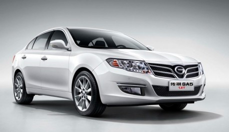 Guangzhou Auto Trumpchi GA5 1.8T hits the Chinese car market