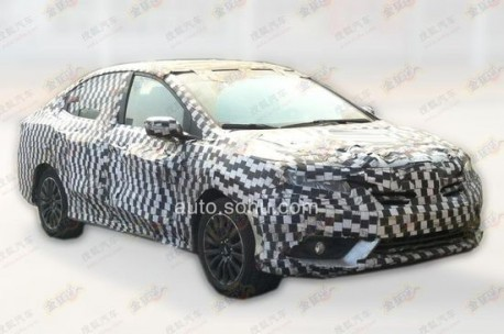 Spy Shots: Honda Concept C seen testing in China