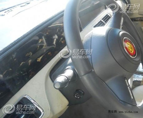 Spy Shots: Hongqi L7 testing in China, a first look inside