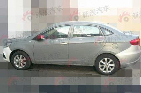 Spy Shots: JAC Heyue A30 sedan testing in China