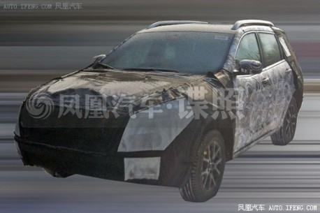 Spy Shots: new Jeep Cherokee testing in China