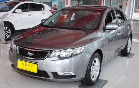 Spy Shots: facelifted Kia Forte is Naked in China