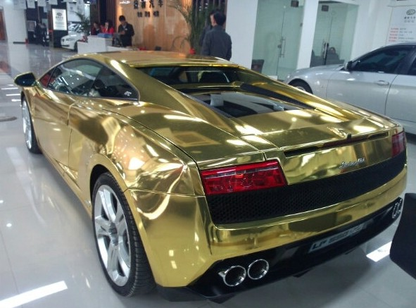 Lamborghini Gallardo Is Gold In China