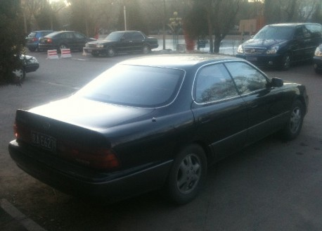 Spotted in China: second generation Lexus ES300