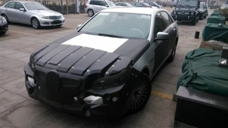 Spy Shots: new Mercedes-Benz E-Class testing in China