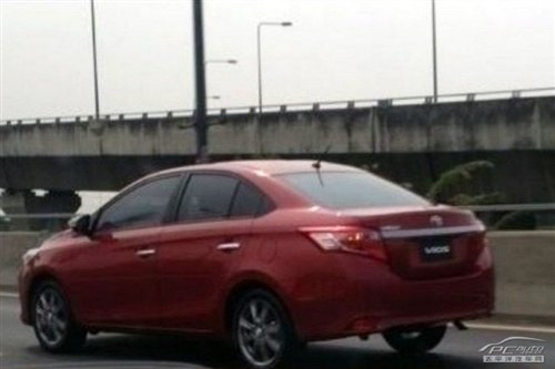 Spy Shots: new Toyota Vios naked in China