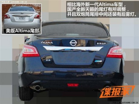 New Nissan Teana will go Stretched in China