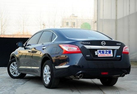 New Nissan Teana launched on the Chinese car market