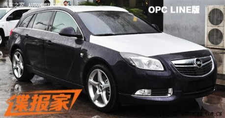 Spy Shots: Opel Insignia Sports Tourer seen testing in China
