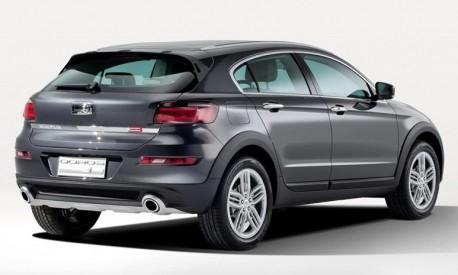 Qoros 3 Cross Hybrid Concept headed for the Geneva Motor Show