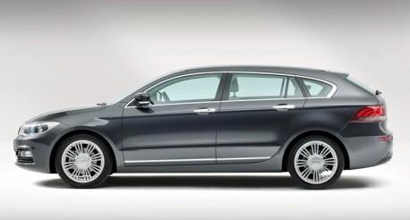 Qoros 3 Estate Concept headed for the Geneva Motor Show