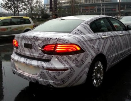 Spy Shots: Qoros GQ3 testing in China, dressed in Qoros camo