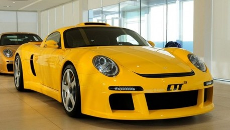 RUF CTR3 hits the Chinese car market