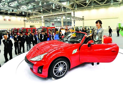 Patent Applied: Suzhou Eagle BX EV roadster will see Production in China