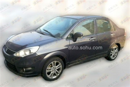 Spy Shots: facelifted Suzuki Liana is Naked in China