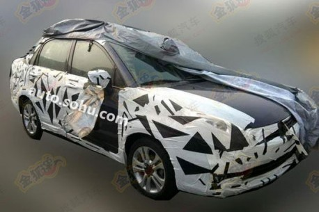 Spy Shots: facelift for the Suzuki Liana sedan in China
