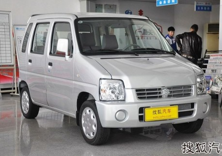 Spy Shots: Suzuki Solio testing in China
