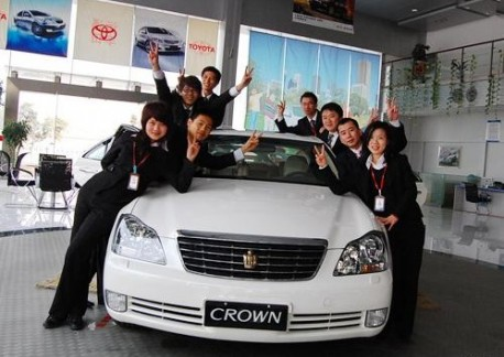 Japanese brands sell more Cars in China in January