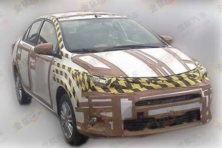 Spy Shots: Toyota Dear testing in China
