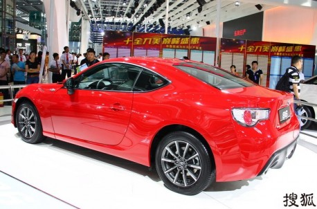 Toyota GT86 will be launched on the China auto market on March 12