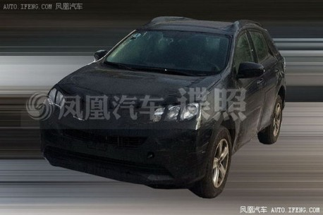 Spy Shots: new Toyota RAV4 testing in China
