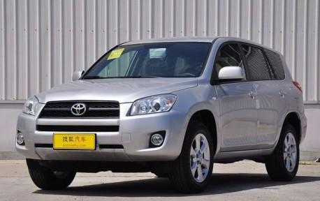 Spy Shots: new Toyota RAV4 testing in China