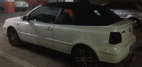 Spotted in China: MK4 Volkswagen Golf Cabriolet