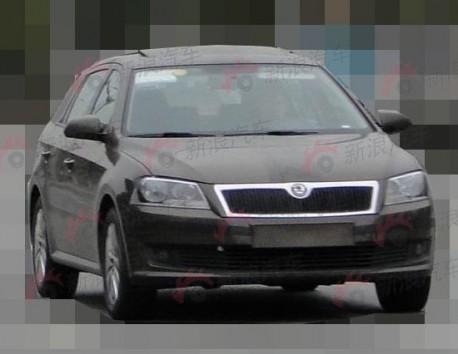 Spy Shots: Volkswagen Lavida Variant testing in China