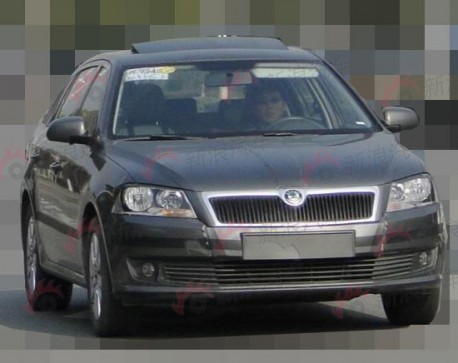 Spy Shots: Volkswagen Lavida Variant testing in China