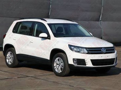 Spy Shots: facelifted Volkswagen Tiguan is Naked in China