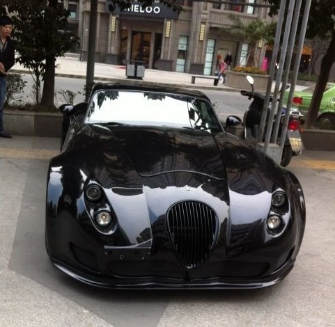 Wiesmann MF5 is Black in China