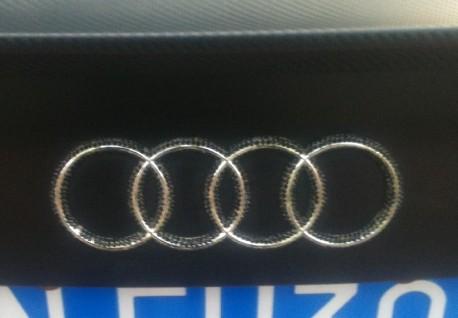 Audi S5 Coupe is matte orange & matte black in China