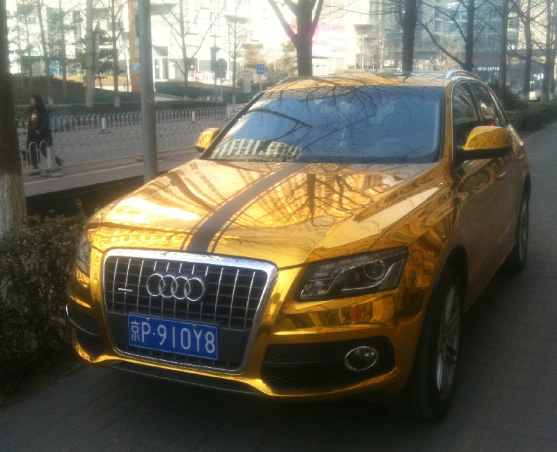 Bling Audi Q5 Is Gold In China Myaudiq5 Forum
