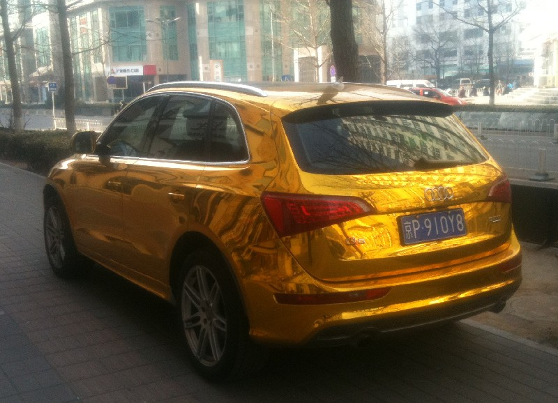 Bling! Audi Q5 is Gold in China