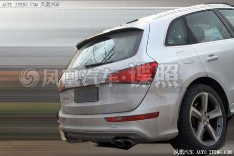 Spy Shots: Audi SQ5 testing in China
