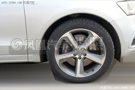 Spy Shots: Audi SQ5 testing in China
