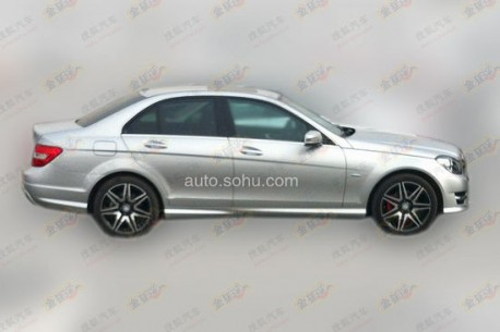 Spy Shots: AMG Sport Kit for Beijing-Benz C-class in China