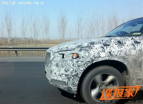 Spy Shots: new BMW X5 testing in China