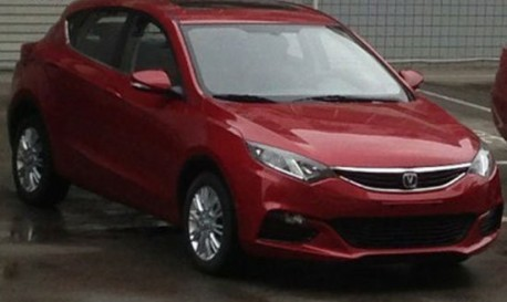 Spy Shots: Chang'an Eado XT shows its Back in China