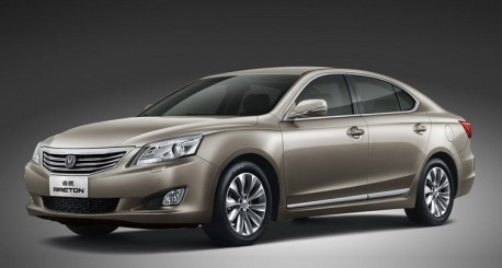 Official pictures of the Chang'an Raeton for the China car market