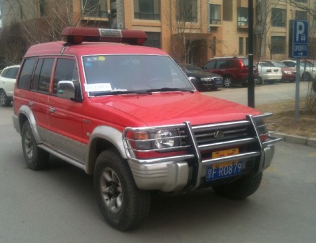 Spotted in China: Changfeng Liebao fire command vehicle