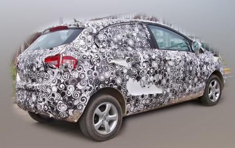 Spy Shots: Chery E2 sedan & hatchback testing in China