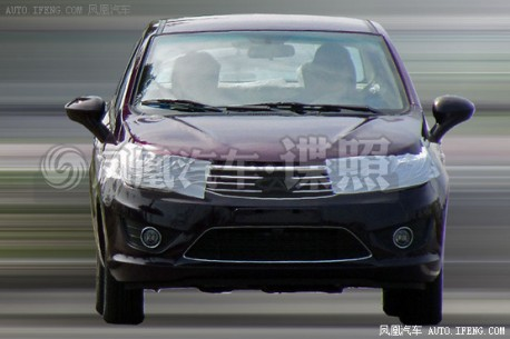 Spy Shots: new Chery E2 sedan seen testing in China